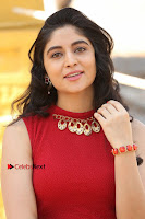 Telugu Actress Zahida Sam Latest Pos in Red Gown at RF Films New Movie Opening  0069.JPG
