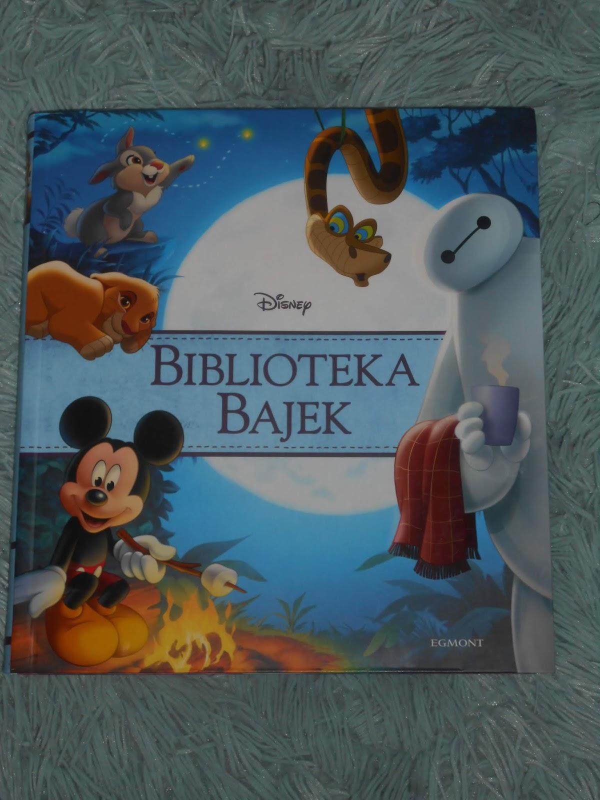 Egmont- Disney. Biblioteka Bajek