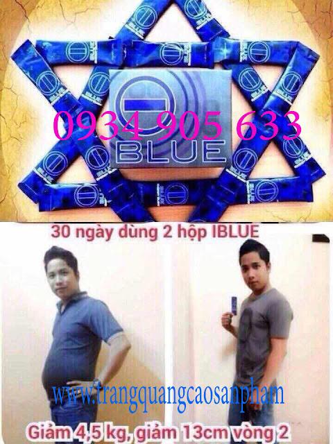Phương pháp giảm cân nhanh và hiệu quả với I-blue