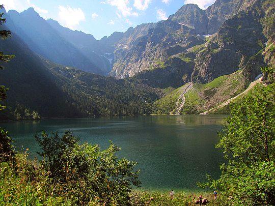 Morskie Oko (słow. Morské oko, niem. Fischsee, węg. Halas-tó).