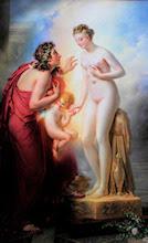 Pigmalión y Galatea, por Girodet