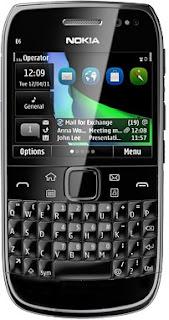 Harga Nokia E6