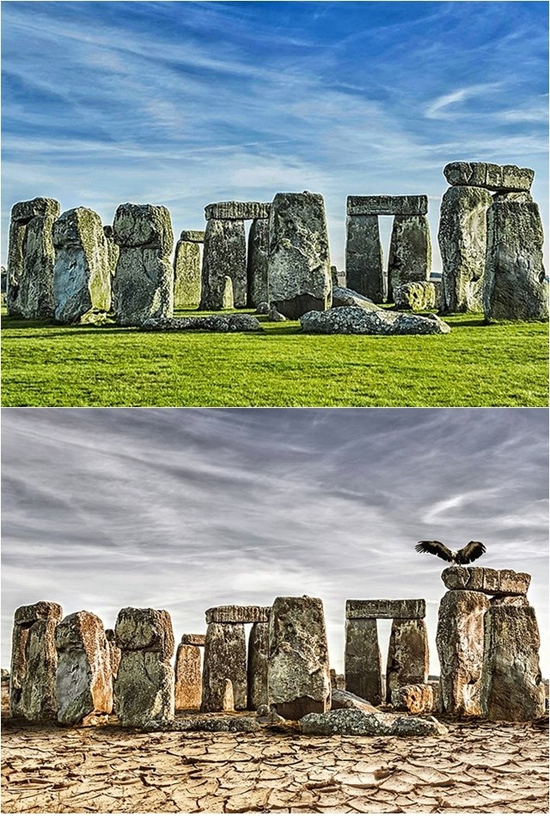 Aquecimento global by Joel Krebs - Stonehenge