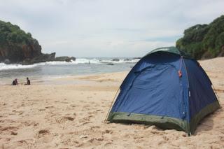 sewa tenda dome kapasitas 2 orang (Coleman )