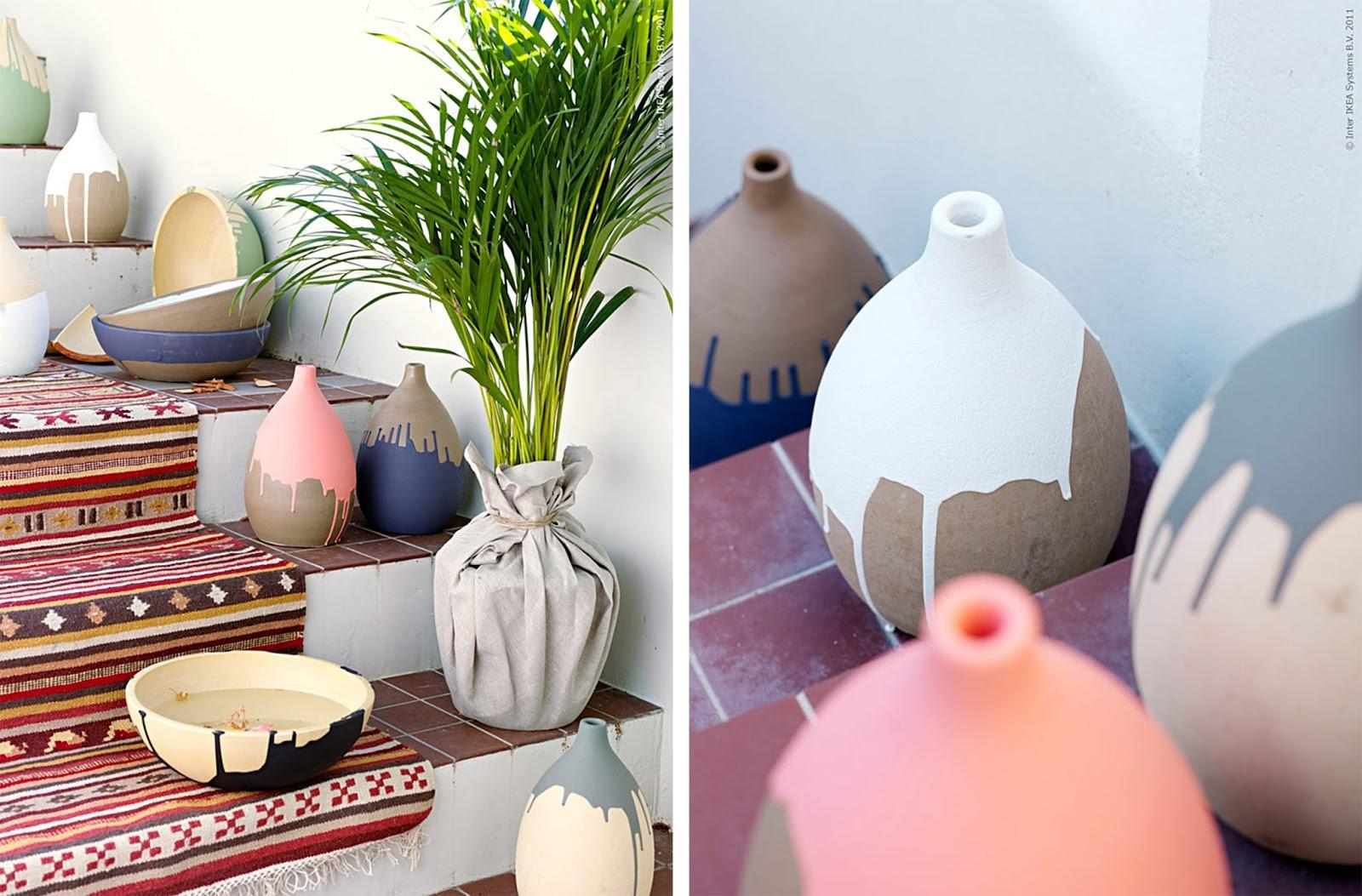 Lampada In Cemento Fai Da Te : Vasi creativi per fiori e piante idee fai da te e riciclo arc