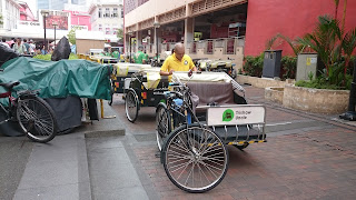 Trishaw Uncle Singapore