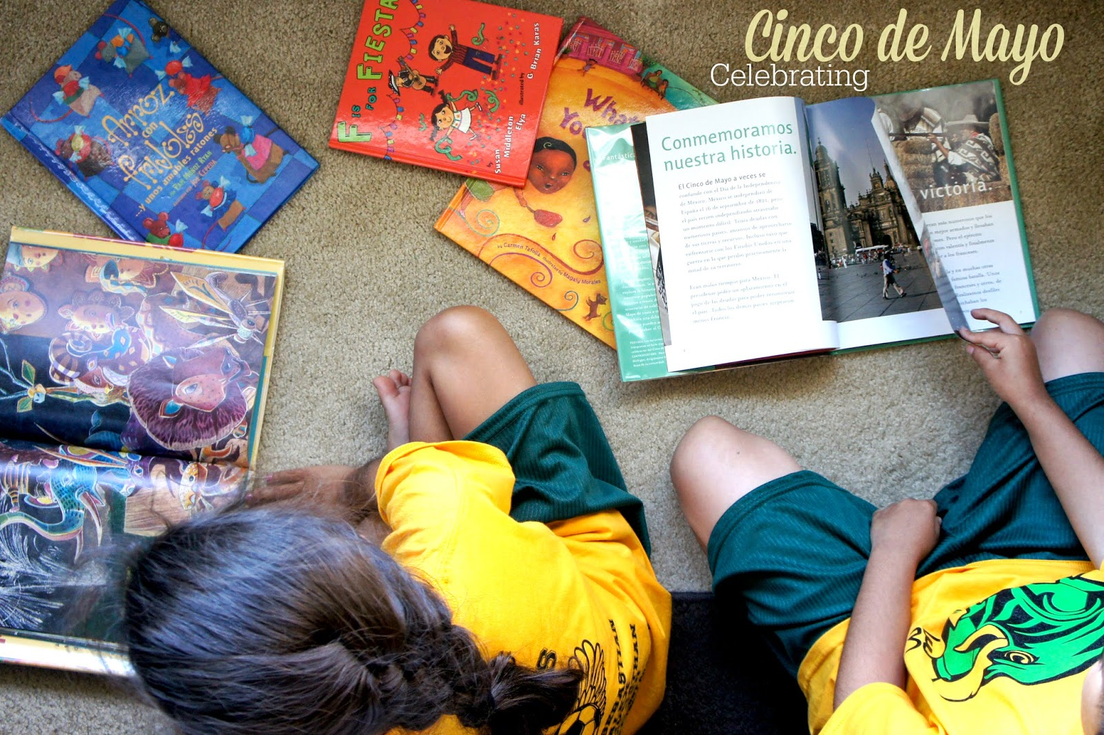 Making Cinco de Mayo meaningful for children #cultura #heritage