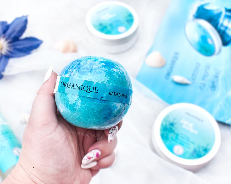 Organique, Sea Essence kula do kąpieli blog opinie