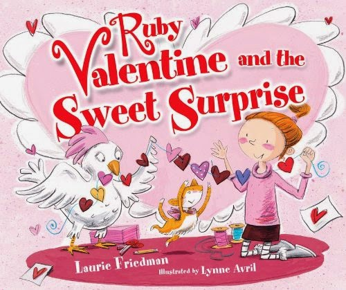 Ruby Valentine and the Sweet Surprise, part of children's book review list about Valentine's Day