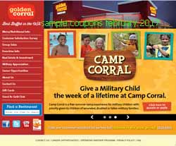 free Golden Corral coupons for february 2017