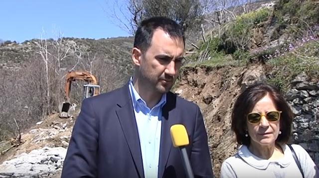 Επίσκεψη του Υπουργού Εσωτερικών Αλέξη Χαρίτση στα χωριά του Ταϋγέτου (βίντεο)