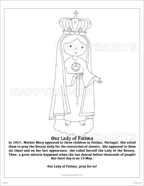 Happy Saints: Happy Saints Mother Mary