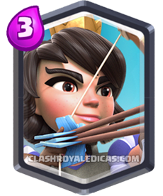 Carta da Princesa de Clash Royale - Cards Wiki