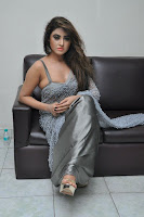 Actress Sony Charistha Latest Pos in Silver Saree at Black Money Movie Audio Launch  0048.jpg
