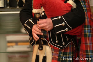 Image: Picture of Highland Bagpipes (c) FreeFoto.com. Photographer: Ian Britton