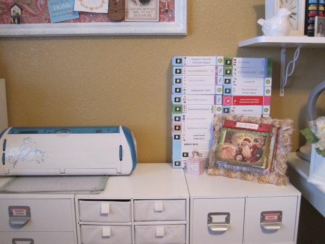 Reorganizing Room: Cherished Treasures: Reorganizing My Scrapbook Room