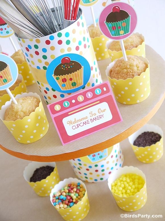 Anniversaire Atelier Cupcakes pour Garçons et Filles | BirdsParty.fr