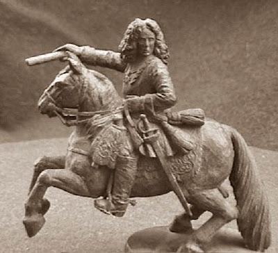 Quinto juego de ajedrez, príncipe Francisco Eugenio de Saboya, caballo negro