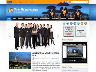 Free ProBusiness themepix WordPress Theme