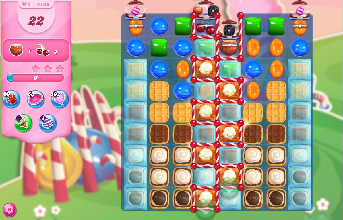 Candy Crush Saga level 5105