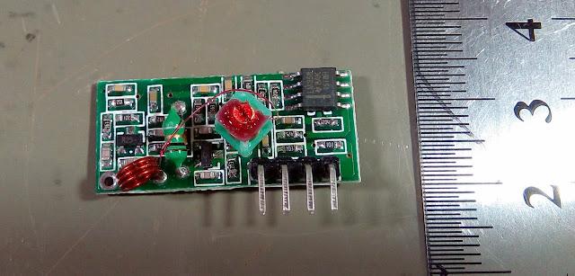 Módulos de 433MHz - Receptor