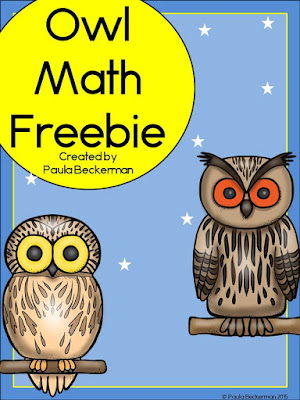 https://www.teacherspayteachers.com/Product/Owl-Math-Freebie-2086566