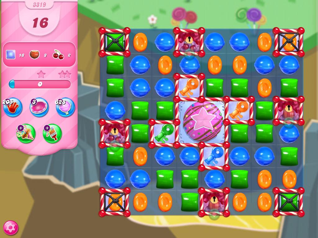 Candy Crush Saga level 3319