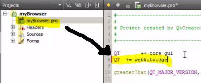 Cara membuat web browser sendiri dari C++ dengan QT Creator