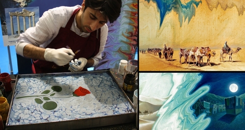 00-Garip-AY-The-Art-of-Ebru-with-Painting-on-Water-www-designstack-co