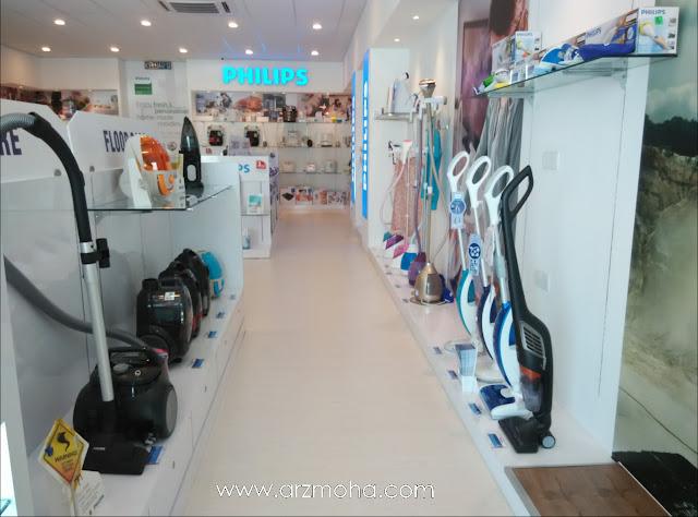 philips experience store, vacuum cleaner, kedai barangan elektrik philips penang,