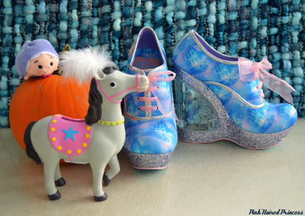 Irregular Choice Call Me Cinders Cinderella shoes