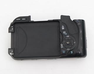 Case Belakang Canon Eos 600D + Tombol