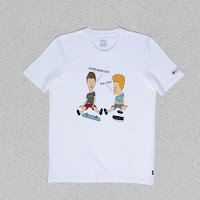 adidas Beavis and Butthead collaboration Tshirt