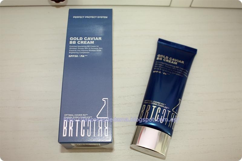 Gold Caviar BB Cream  BRTC cosmética asiatica kbeauty belleza