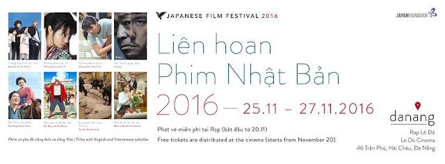 Liên hoan Phim Nhật Bản 2016 tại Đà Nẵng