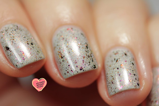 Girly Bits Hoarfrost swatch by Streets Ahead Style