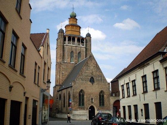 Iglesia de Jerusalén, Brujas, Bélgica