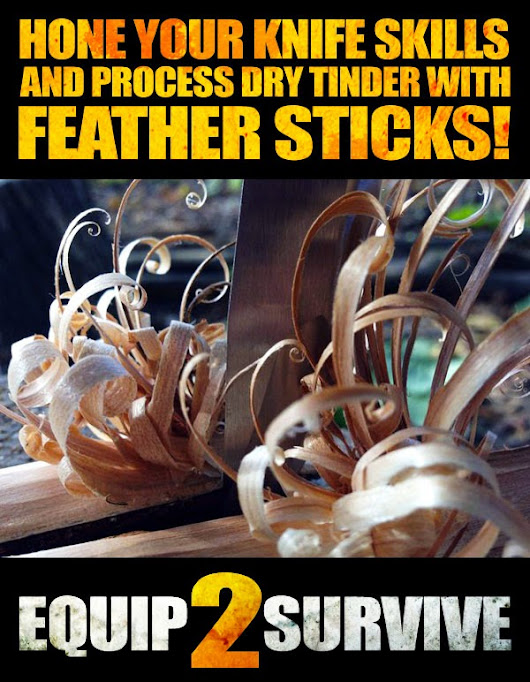 Why You Should Master The Art Of Feather Stick Making!