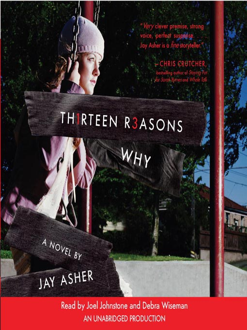 Gsarahthelibrarian's Book Blog: Thirteen Reasons Why by ...