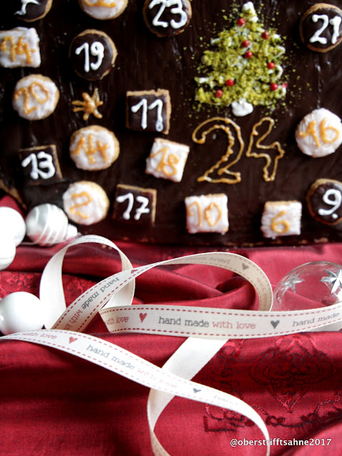 Adventskalender selbst backen