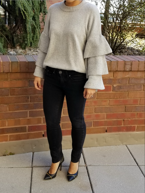 Target Who What Wear Ruffle Sweater
