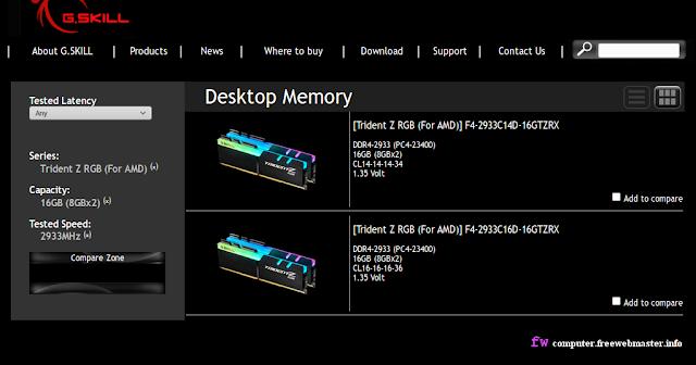Память G.SKILL Trident Z RGB для AMD Ryzen