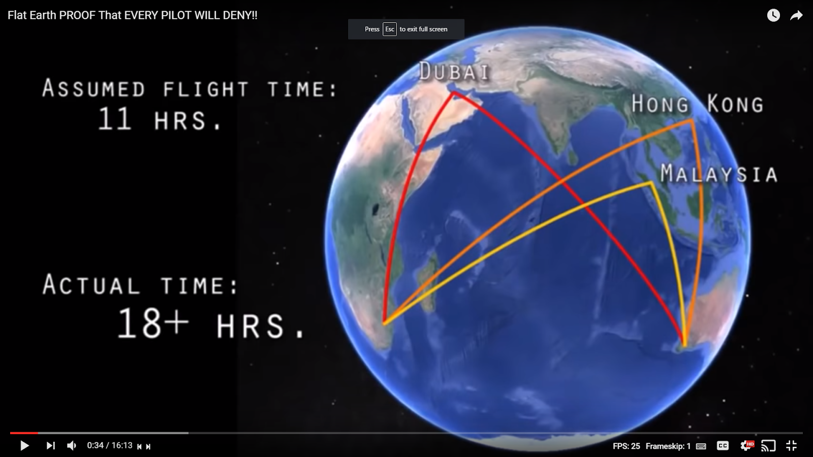 Flat Earth Insanity Lies Flights From Johannesburg To