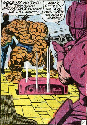 Fantastic Four 85 Doom