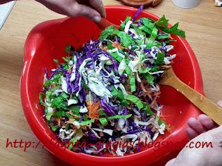 Χειμωνιάτικη Σαλάτα με Χρωματιστά Λαχανικά - από «Τα φαγητά της γιαγιάς»