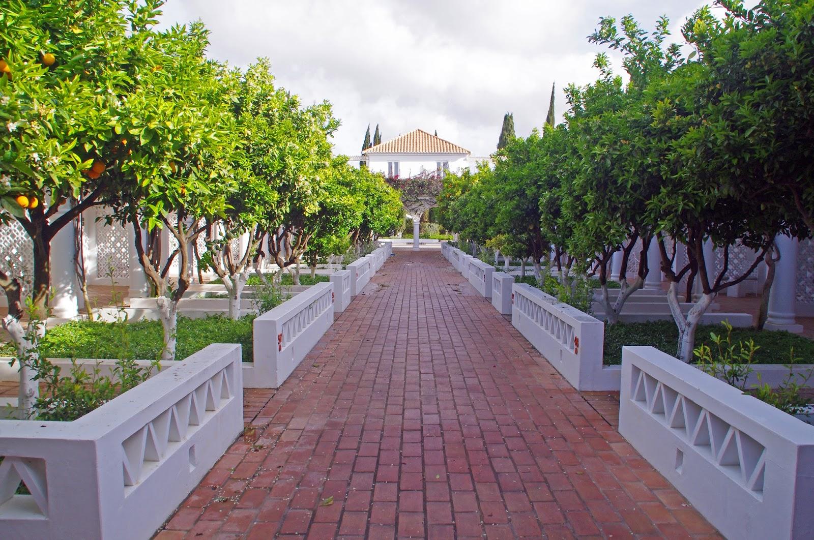 Vila Monte Farm House Portugal Entrance to Suites