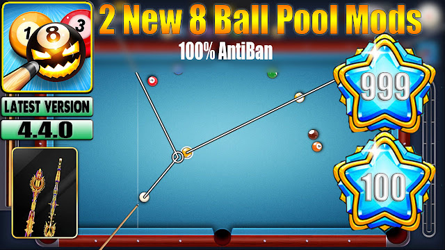 8 Ball Pool Mod Apk v 4 4 0 ( All GuideLine + Level Max 999