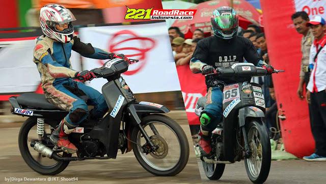 Honda Astrea Tua ini Guncang Road Race PONTIANAK, Berani Terjun Lawan BLADE Injeksi