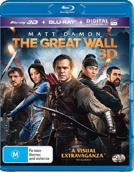 The Great Wall 3D (La Gran Muralla 3D) (2016) m1080p BDRip 3D Half-OU 9.8GB mkv Dual Audio DTS-HD 7.1 ch