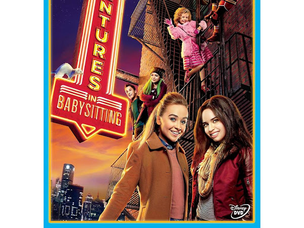 Adventures In Babysitting: Available on DVD TODAY! {+ Activity Sheets}
